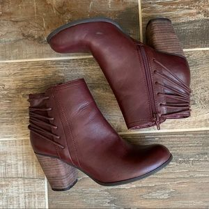 ✨ Steve Madden Wine Dutton Ankle Boots